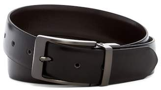 Steve Madden Burnished Reversible Leather Belt