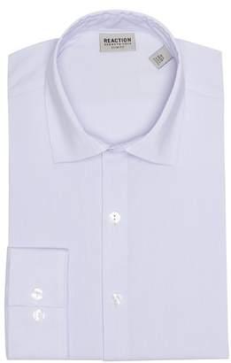 Kenneth Cole Reaction Slim Fit Stripe Dress Shirt