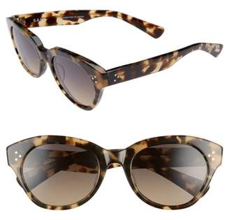 Salt Bobbi 53mm Cat Eye Polarized Sunglasses