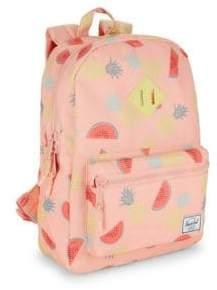Herschel Kid's Heritage Youth Fruit Print Backpack