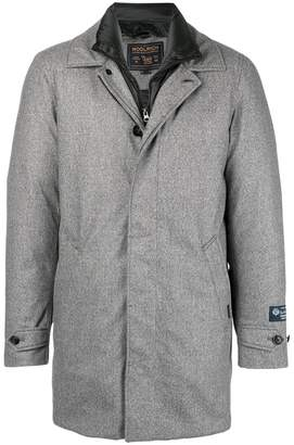 Woolrich padded lining single-breasted coat