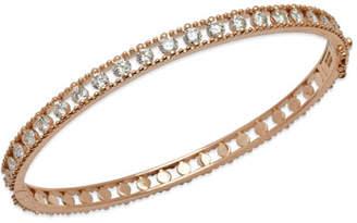 Fratelli Staurino Allegra 18k Rose Gold Diamond Bangle Bracelet