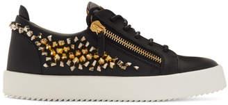 Giuseppe Zanotti Black Cosmann May London Sneakers