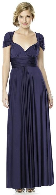 Dessy Collection - MJ-TWIST2 Dress in Amethyst