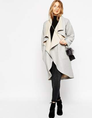 ASOS Oversized Waterfall Coat $161 thestylecure.com