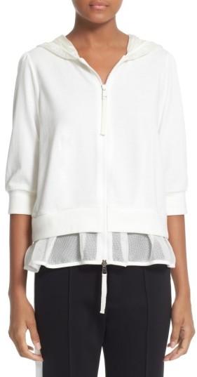MonclerWomen's Moncler Ruffle Hem Sweatshirt