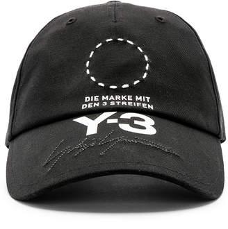 Yohji Yamamoto Y 3 Street Cap