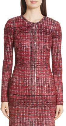 St. John Ombre Shine Knit Jacket