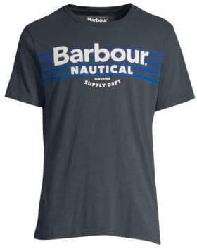 Barbour Nautical Bluefin Logo Tee