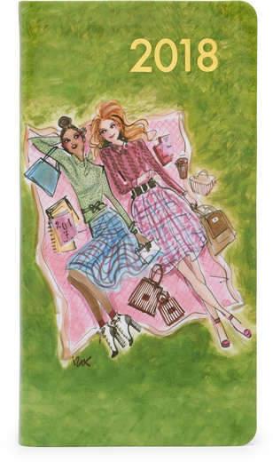 2018 Central Park Girls Pocket Journal