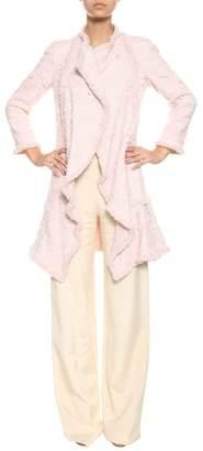 Edward Achour Paris Tweed Coat From