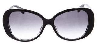 Diane von Furstenberg Blaise Oversize Sunglasses