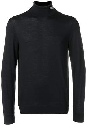 Emporio Armani turtle-neck fitted sweater