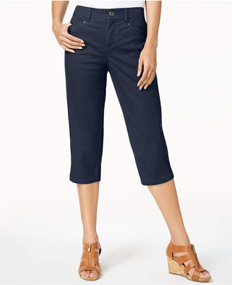 Style&Co. Style & Co Split-Hem Capri Pants, Created for Macy's