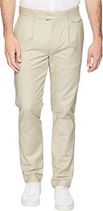 Calvin Klein Jeans Calvin Klein Men's Slim Fit Flat Front Sateen Trouser Pant