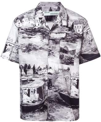 Off-White shortsleeved printed shirt