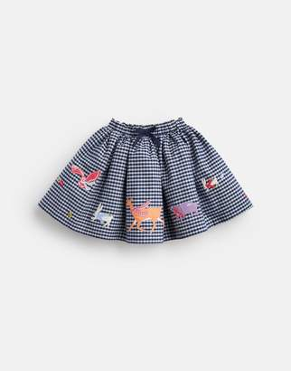 Joules Clothing Ariel luxe Woven Skirt With Elasticated Waistband 1yr