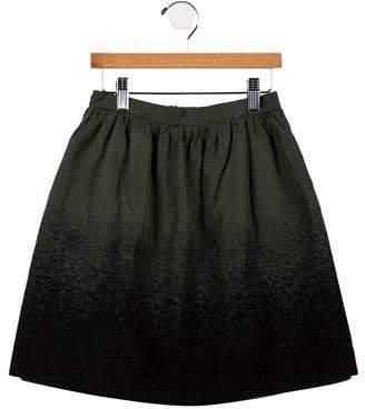 Il Gufo Girls' Textured A-Line Skirt