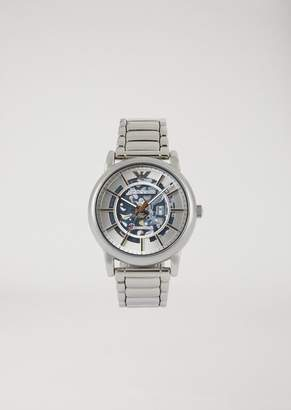 Emporio Armani Automatic Stainless Steel Watch 60006