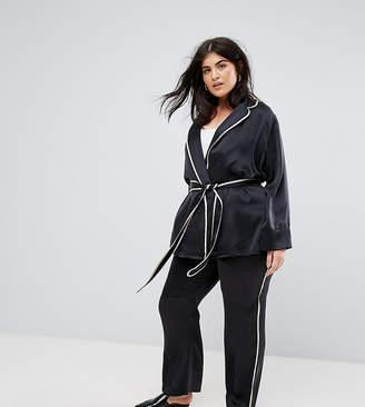 Elvi Navy Pajama PANTS