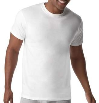 Hanes Men's Big & Tall X-Temp White Crew T-Shirts, 4 Pack, Size 2XL