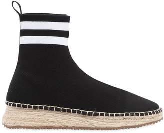 Alexander Wang 30mm Dyllan Knit High Top Sneakers