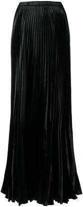 Saint Laurent pleated long skirt