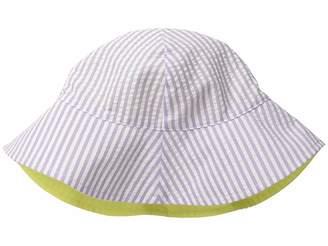 San Diego Hat Company Kids CTK3422 Reversible Seersucker Bucket w/ Chin Strap (Infant)