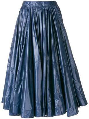 Calvin Klein full gathered skirt