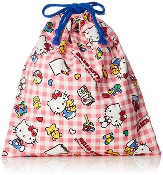 Hello Kitty (ハロー キティ) - [ハローキティ] 巾着 コットン巾着(M) KHJ-750 アカ アカ