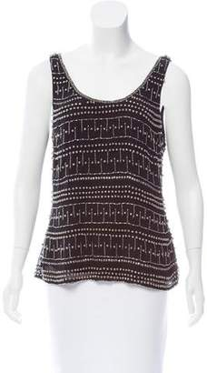 Yumi Kim Sleeveless Beaded Top