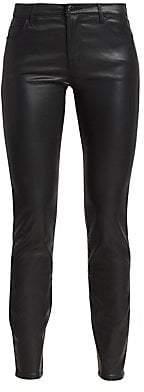 Emporio Armani Women's Wax Coated Five-Pocket Jeans