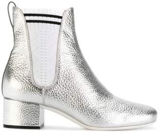 Fendi sock detail Chelsea boots