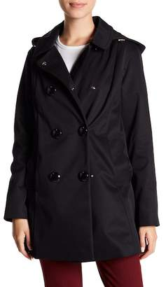 Kate Spade Scallop Pocket Raincoat