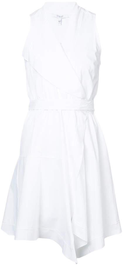 Derek Lam 10 Crosby Sleeveless Wrap Dress