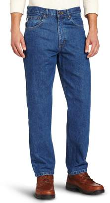 Carhartt Men's Big & Tall Relaxed Fit Tapered Leg Jean
