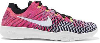 Nike Free Tr Flyknit Sneakers - Pink
