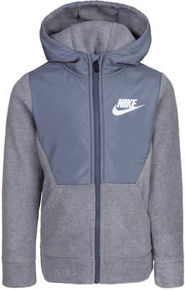 Nike Little Boys Sportswear Club Fleece Zip Hoodie