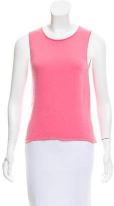 Lucien Pellat-Finet Sleeveless Cashmere Top