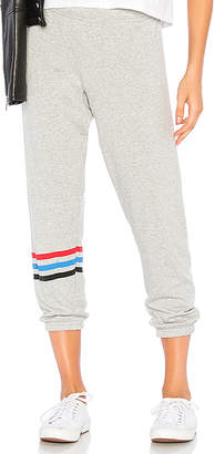 Michael Lauren Nate Crop Sweatpants
