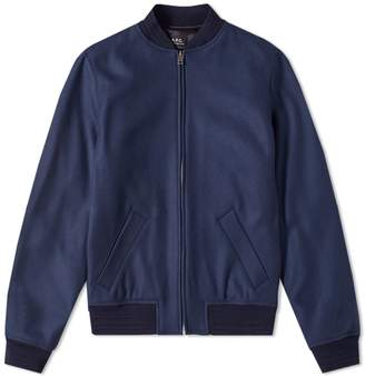 A.P.C. Gaston Wool Bomber Jacket