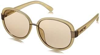 BCBGMAXAZRIA Women's BCB839HON5617 Round Sunglasses