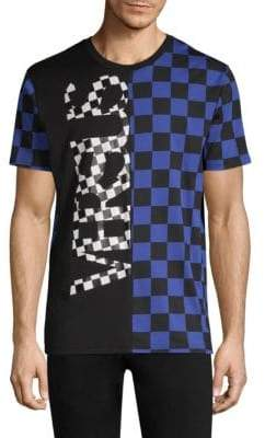 Versus By Versace Check Graphic T-Shirt