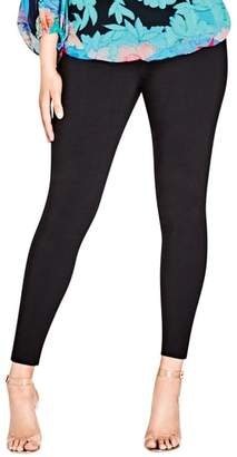 City Chic Bengaline Jean Leggings