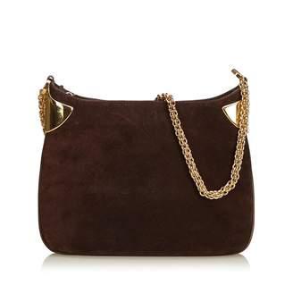 5f03c0054 Gucci Vintage Brown Suede Handbag