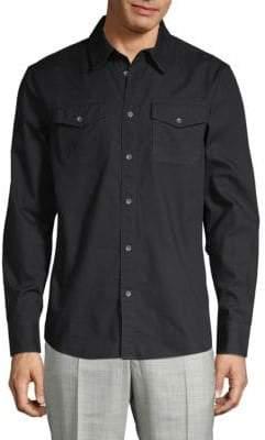 True Religion Cotton Utility Shirt