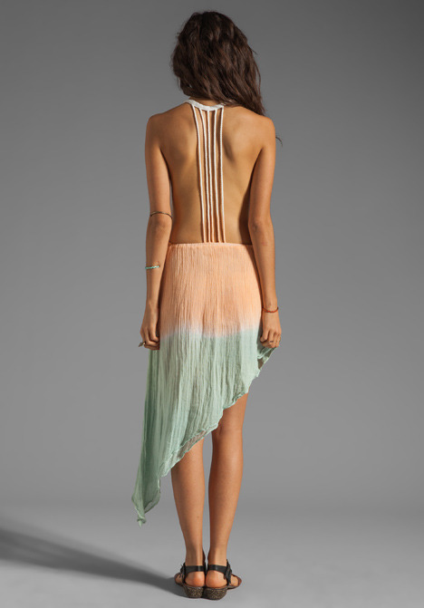 Jens Pirate Booty San Pancho Backless Gown