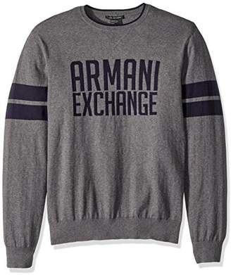 Armani Exchange A|X Men's Logo Cashmere Pull Over