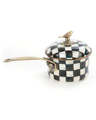 Mackenzie Childs MacKenzie-Childs Courtly Check 2.5-Quart Saucepan