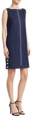Piazza Sempione Sleeveless Wool-Blend Dress